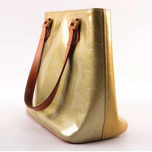 1999 Louis Vuitton Paris Lime Vernis Shoulder Bag